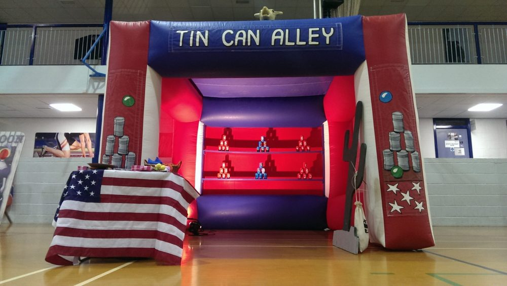 Wild West Tin Can Alley Manned with prizes
