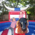 RODEO BULL HIRE AT KIDS PARTY