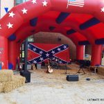 WILD WEST RODEO BULL MARQUEE